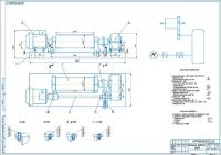 Монтажный чертеж механизма подъема груза