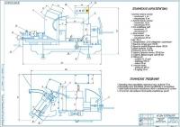 Станок SERDI HVR-90 Сборочный чертеж