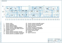 План дизельного цеха локомотиворемонтного завода