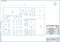 Схема генерального плана СХПК
