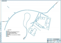 План землепользования хозяйства с привязкой к местности