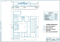 Курсовой проект зоны ТО-1 АТП на 270 автобусов ПАЗ-3205