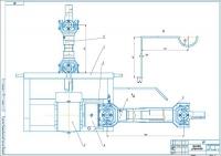 Общий вид устройства для запуска тракторов в холодный период