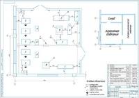 Планировка агрегатного участка АТП на 242 автобуса МАЗ-105