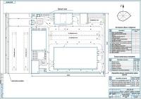 Генеральный план проекта АТП на 393 автомобилей Газель Next