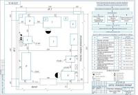Разработка объемно-планировочных решений моторного участка АТП автомобилей Газель Next