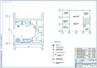 Планировка шиномонтажного участка автомобилей ВАЗ-2109