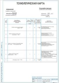 Технологическая карта на регулировку топливной форсунки автомобиля МАЗ-64221