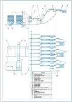 Чертежи и расчет линии сортировки пиломатериалов