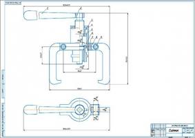 Разработка съемника подшипников автомобилей