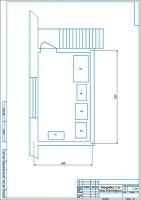 План второго этажа до модернизации