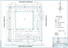 Генеральный план проектируемой СТО автомобилей МАЗ