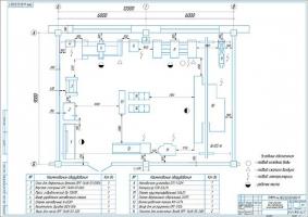 План участка восстановления коленчатых валов