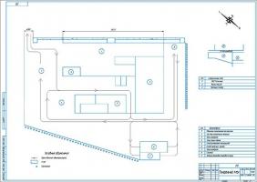Генеральный план ремонтной базы
