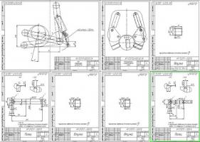Деталировка и компоновочные схемы харвестерной головки