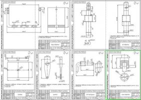 Деталировка приспособления для ремонта карбюраторов
