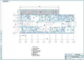 Технологическая планировка проектируемой мастерской СПК