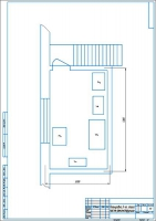 План второго этажа после модернизации