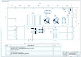 Производственный корпус СТО до реконструкции