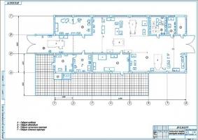 Технологическая планировка проектируемой мастерской