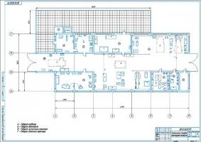 Технологическая планировка проектируемой мастерской СХПК