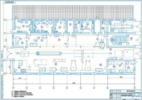 Технологическая планировка мастерской СПК