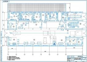 Технологическая планировка ремонтной базы
