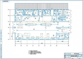 Технологическая планировка проектируемой мастерской ОАО СХП