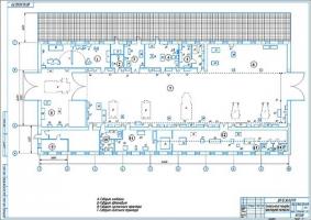 Технологическая планировка проектируемой мастерской ООО
