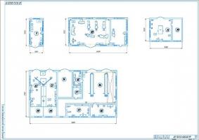 Планировка участка 2 до модернизации