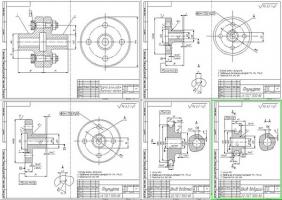 Деталировка мойки колес легковых автомобилей