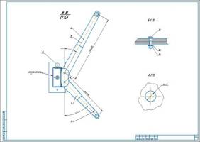 Лист 2 электромеханического подъемника
