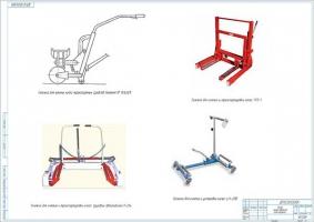 Обзор конструкций тележек замены колес