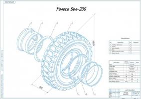 Колесо Бел-200