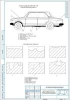 Виды коррозионных разрушений элементов кузова автомобиля