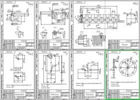 Деталировка машины для очистки корпусов форсунок дизеля К6S310DR