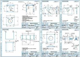 Деталировка прибора проверки дизельных форсунок