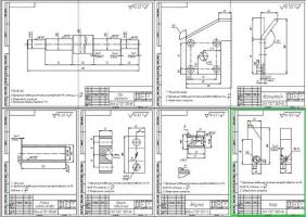 Деталировка стенда проверки системы охлаждения блока цилиндров