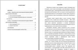 Политико-правовая природа процесса образования ФРГ курсовая