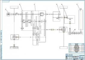 Модернизация шинно-пневматической муфты к дорожной фрезе ДС-74