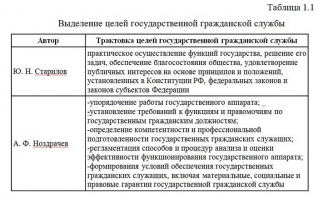 Государственная служба как политико-правовой институт, ее цели, функции, задачи Курсовая