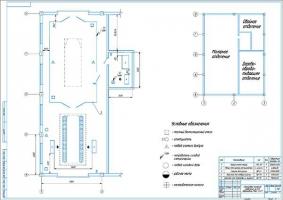 Планировка малярного отделения АТП на 411 автомобилей МАЗ-53371