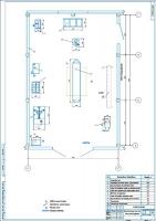 Планировка шиномонтажного участка на СТО Эклипс